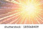 mosaic vector illustration of... | Shutterstock .eps vector #185068409