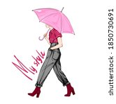 Hand Drawn Fashion Illustration ...