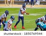 Small photo of Jacksonville, Florida USA November 8 2020 NFL Houston Texans vs Jacksonville Jaguars Deshaun Watson