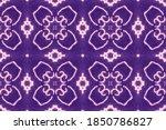 Aztec Stripes. Purple Aztec...