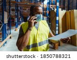 Warehouse Manager Wearing A...