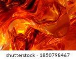 Colorful Amber Abstract Macro...