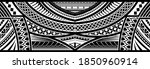 polynesian tattoo pattern maori ...   Shutterstock .eps vector #1850960914