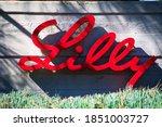 Eli lilly logo sign. eli lilly...