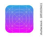 application icon design grid...