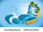 Tropical Background From...