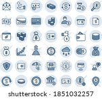 blue tint and shade editable... | Shutterstock .eps vector #1851032257
