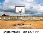 Basketball Field Of Play In...