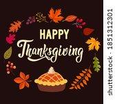 Thanksgiving Greeting Card....