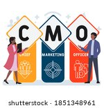 flat design with people. cmo  ...   Shutterstock .eps vector #1851348961