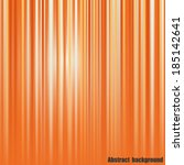 Abstract Orange Striped...