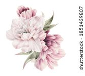 bouquet of flowers  can be used ... | Shutterstock . vector #1851439807