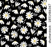 trendy seamless floral ditsy...   Shutterstock .eps vector #1851486367