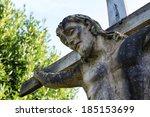 14th Century Stone Statue Jesu...