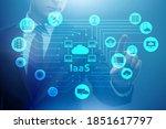 businessman in infrastructure...   Shutterstock . vector #1851617797