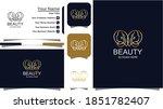 logo for salon and beauty   Shutterstock .eps vector #1851782407