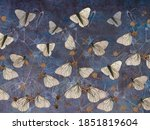 Butterflies On Thorns Painted...