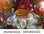 santa claus merry christmas day | Shutterstock . vector #1851863101