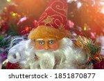 santa claus merry christmas day | Shutterstock . vector #1851870877
