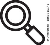 magnify icon  magnifying glass...