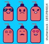 vector hand sanitizer with...   Shutterstock .eps vector #1851984814