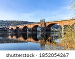 Old Roman Bridge In Trier...