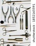 otolaryngology tools  medical... | Shutterstock . vector #1852165591
