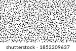 abstract black and white ink... | Shutterstock .eps vector #1852209637