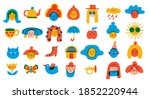 Vector Doodle Icons And Logos ...