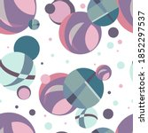 Seamless Abstract Pattern Of...