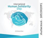 international human solidarity... | Shutterstock .eps vector #1852302091