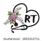 Flower Heart Stethoscope Floral ...