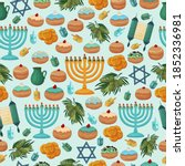 Hanukkah Background. Happy...