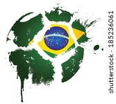 football   soccer   brazil   ... | Shutterstock . vector #185236061