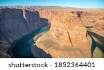 Horseshoe Bend Arizona With...