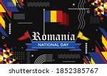 Romania National Day Banner For ...