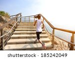 healthy lifestyle fitness... | Shutterstock . vector #185242049