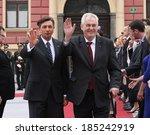 ljubljana  slovenia   april 3 ... | Shutterstock . vector #185242919