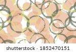 creative hand drawn circles... | Shutterstock .eps vector #1852470151