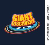 giant discovery graphic icon | Shutterstock .eps vector #185249054