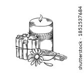 Relax Aroma Candles. Black...