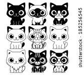 vector set of different...   Shutterstock .eps vector #185256545