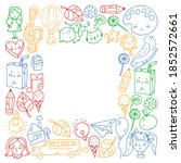 Vector Pattern With Items For...