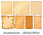 old paper sheets illustration... | Shutterstock .eps vector #1852619914