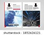 modern vector templates for... | Shutterstock .eps vector #1852626121
