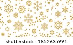 merry xmas seamless pattern.... | Shutterstock .eps vector #1852635991