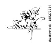 thank you | Shutterstock . vector #185273354