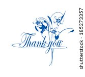 thank you | Shutterstock . vector #185273357
