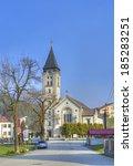 terchova  slovakia   march 29 ... | Shutterstock . vector #185283251