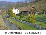 terchova  slovakia march 29 ... | Shutterstock . vector #185283257